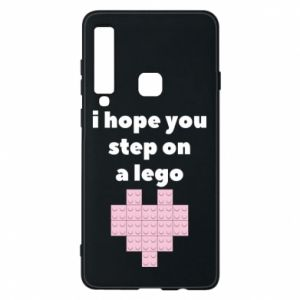 Phone case for Samsung A9 2018 I hope you step on a lego