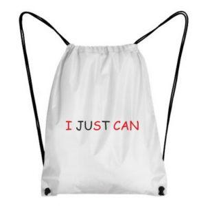 Plecak-worek I just can