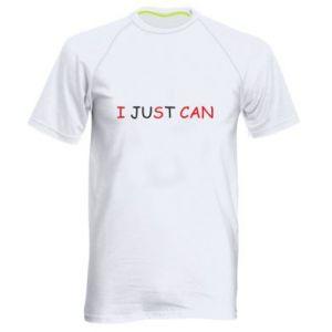 Koszulka sportowa męska I just can