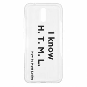 Etui na Nokia 2.3 I know H. T. M. L. How To Meet Ladies