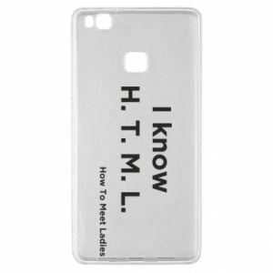 Etui na Huawei P9 Lite I know H. T. M. L. How To Meet Ladies