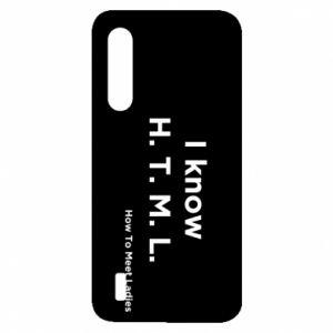 Etui na Xiaomi Mi9 Lite I know H. T. M. L. How To Meet Ladies