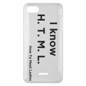 Etui na Xiaomi Redmi 6A I know H. T. M. L. How To Meet Ladies
