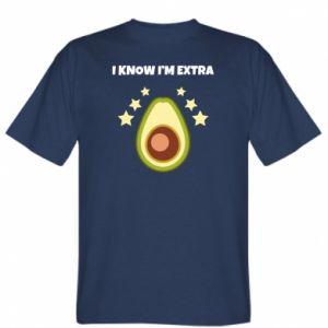 Koszulka męska I know i'm extra