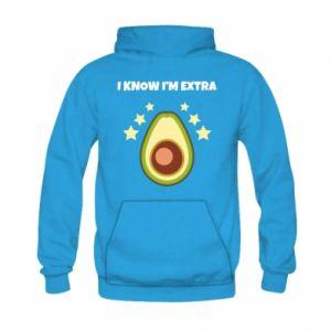 Bluza z kapturem dziecięca I know i'm extra