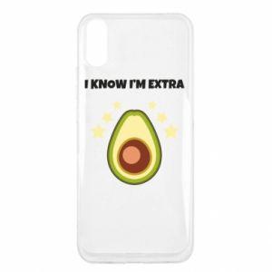 Etui na Xiaomi Redmi 9a I know i'm extra
