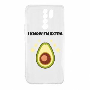 Etui na Xiaomi Redmi 9 I know i'm extra