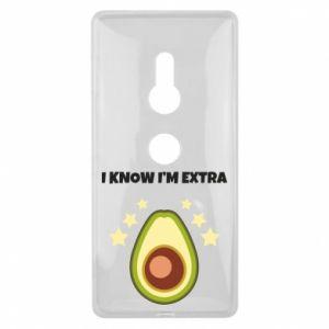 Etui na Sony Xperia XZ2 I know i'm extra