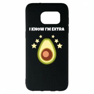 Etui na Samsung S7 EDGE I know i'm extra