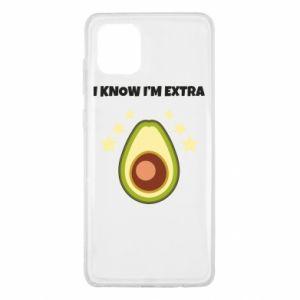 Etui na Samsung Note 10 Lite I know i'm extra