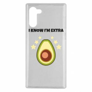 Etui na Samsung Note 10 I know i'm extra