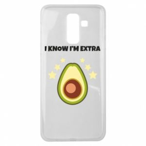 Etui na Samsung J8 2018 I know i'm extra