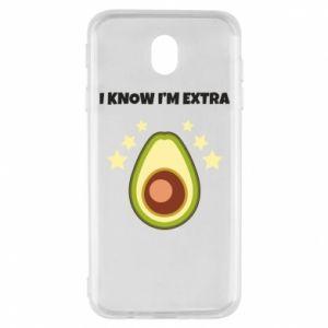 Etui na Samsung J7 2017 I know i'm extra