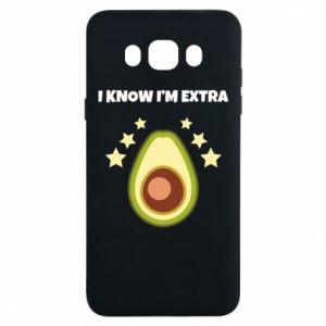 Etui na Samsung J7 2016 I know i'm extra