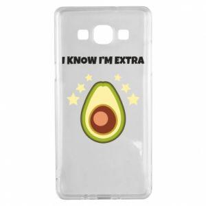 Etui na Samsung A5 2015 I know i'm extra