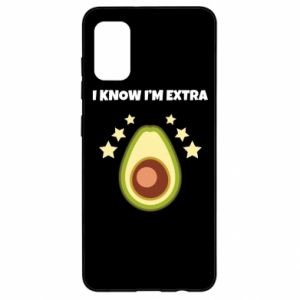 Etui na Samsung A41 I know i'm extra