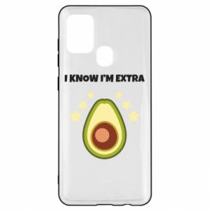 Etui na Samsung A21s I know i'm extra