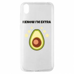 Etui na Huawei Y5 2019 I know i'm extra