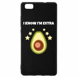 Etui na Huawei P 8 Lite I know i'm extra