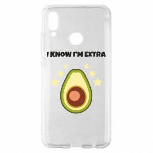 Etui na Huawei P Smart 2019 I know i'm extra