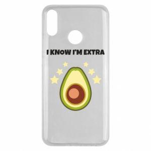 Etui na Huawei Y9 2019 I know i'm extra