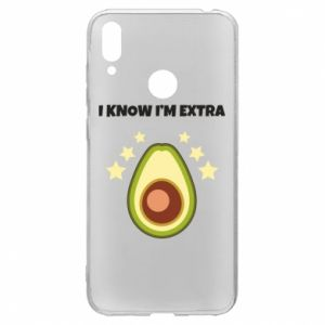 Etui na Huawei Y7 2019 I know i'm extra