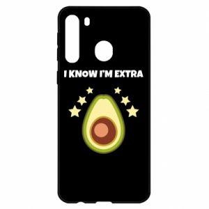 Etui na Samsung A21 I know i'm extra