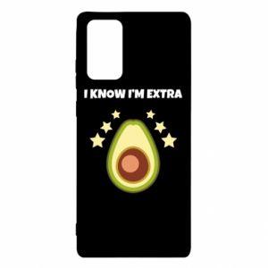 Etui na Samsung Note 20 I know i'm extra