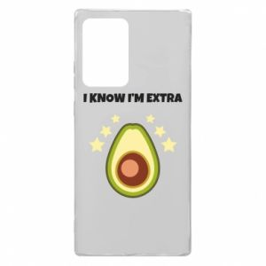 Etui na Samsung Note 20 Ultra I know i'm extra