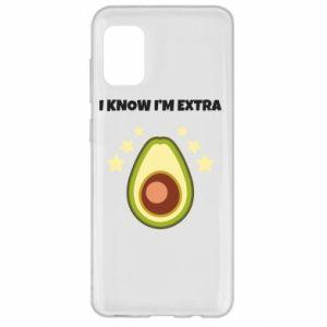 Etui na Samsung A31 I know i'm extra