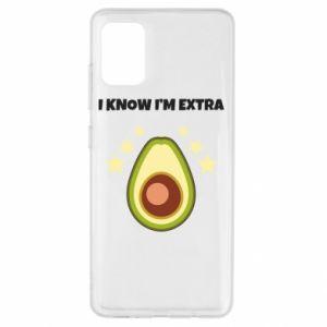 Etui na Samsung A51 I know i'm extra