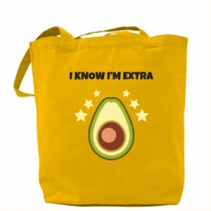 Torba I know i'm extra