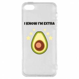Etui na iPhone 5/5S/SE I know i'm extra