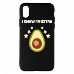 Etui na iPhone X/Xs I know i'm extra