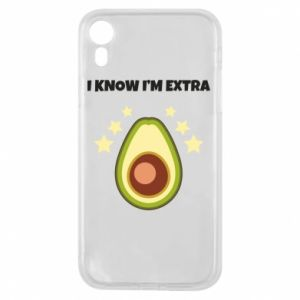 Etui na iPhone XR I know i'm extra