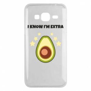 Etui na Samsung J3 2016 I know i'm extra