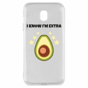 Etui na Samsung J3 2017 I know i'm extra