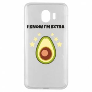 Etui na Samsung J4 I know i'm extra