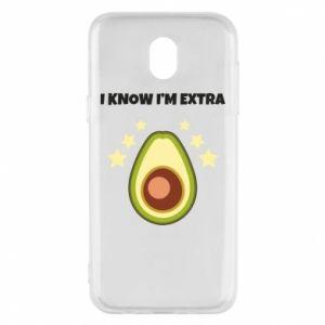 Etui na Samsung J5 2017 I know i'm extra