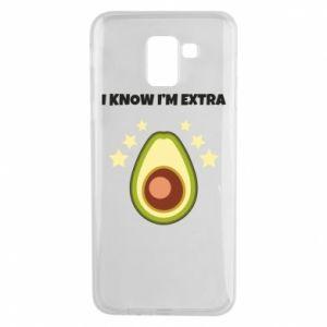 Etui na Samsung J6 I know i'm extra