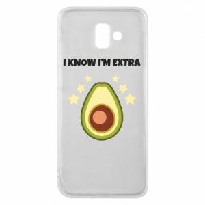 Etui na Samsung J6 Plus 2018 I know i'm extra