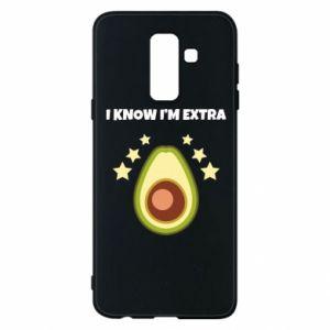 Etui na Samsung A6+ 2018 I know i'm extra