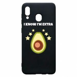 Etui na Samsung A20 I know i'm extra
