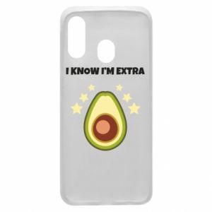 Etui na Samsung A40 I know i'm extra