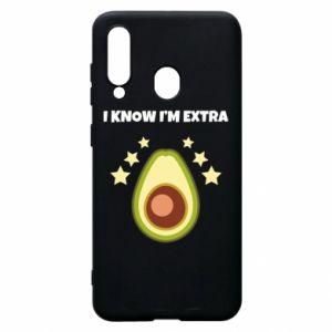 Etui na Samsung A60 I know i'm extra
