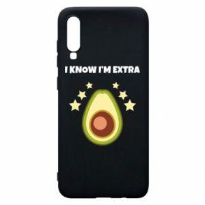 Etui na Samsung A70 I know i'm extra