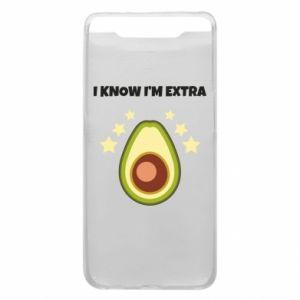 Etui na Samsung A80 I know i'm extra