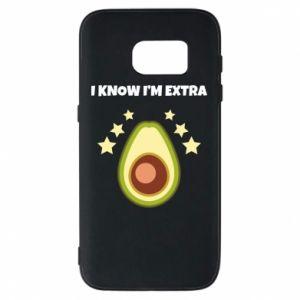 Etui na Samsung S7 I know i'm extra