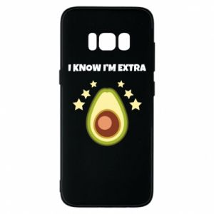 Etui na Samsung S8 I know i'm extra