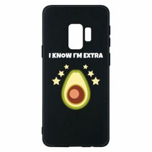 Etui na Samsung S9 I know i'm extra